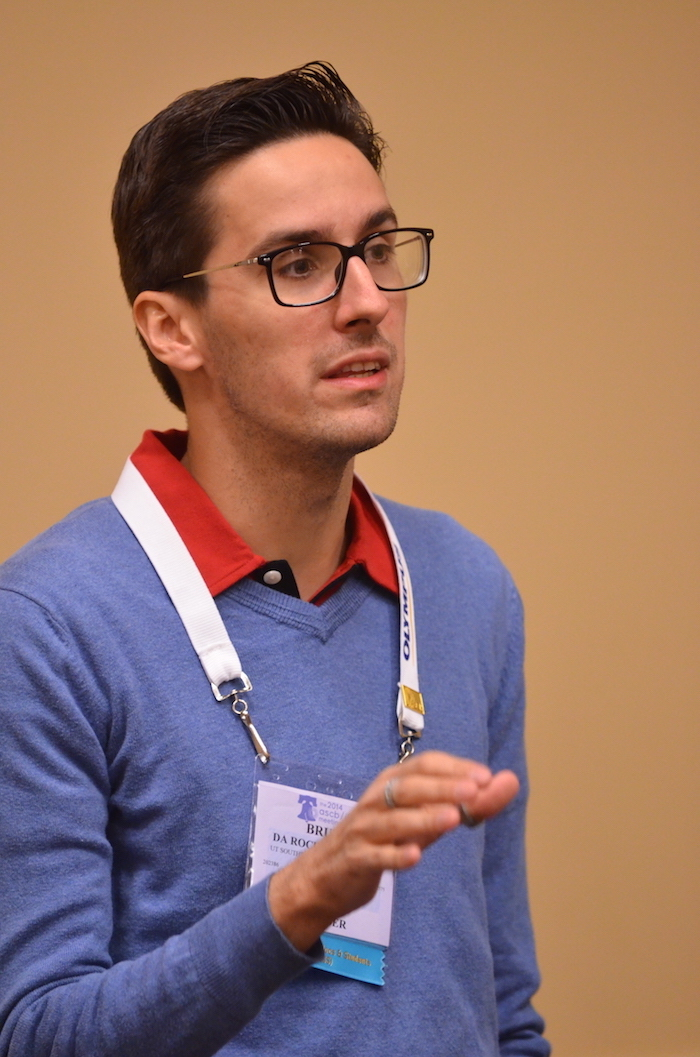 Bruno Da Rocha-Acevedo is encouraged by the ASCB Council resolution on LGBTQ+ diversity. ASCB photo