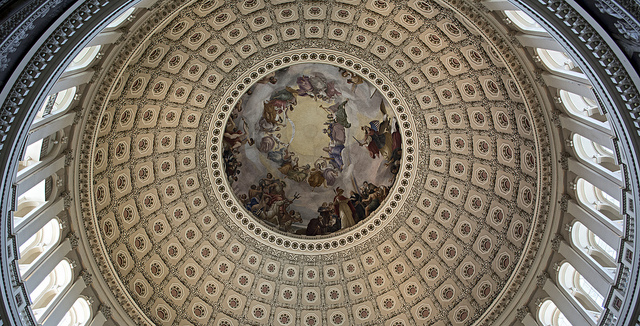 Under the Capitol dome, all that rises is not just hot air. Photo by Alvin Robinson, alrob_photos, Flickr Creative Commons