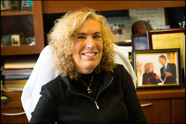 The winner of ASCB's highest scientific award, Elaine Fuchs, will receive the E.B. Wilson Medal at the Annual Meeting this December. Photo courtesy Rockefeller University