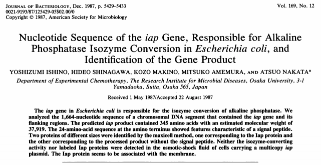 The paper that previewed the CRISPR revolution? NIGMS Director says you never know where the next high impact discovery will come from.