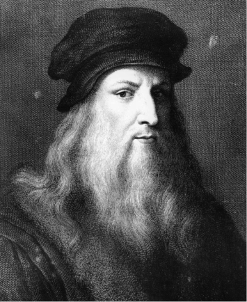 "Fig 1: Leonardo Da Vinci, ""The Renaissance Man"" (Image available on public domain)"