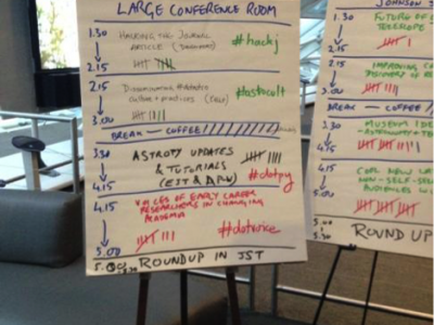 Proposals for Hack Day events at the dotAstronomy unconference in Chicago, 2014
