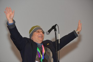 Stan Cohn at the 2014 ASCB Annual Meeting. Photo by James McWilliams.