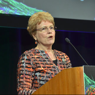 Jane Lubchenco gave the first keynote at the 2015 ASCB Annual Meeting encouraging scientists to communicate to the public. ASCB Photo.