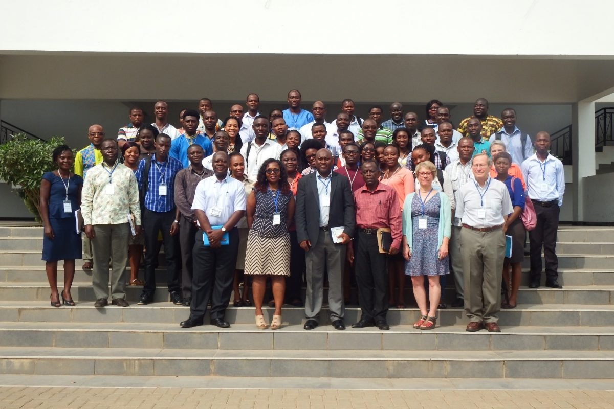 Participants and faculty members of the course for newly enrolled graduate students at WACCBIP