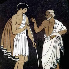 Telemachus and Mentor in the Odyssey by Pablo E. Fabisch