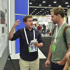 Meetings help us connect with our peers and have insightful discussions. ASCB Photo.