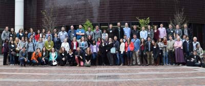 Participants at BAMMchella in Cambridge, MA.