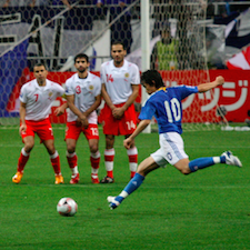 """The World Cup of 21st century science will be won by """"cell biology teams,"""" combining disciplines and led by cell biologists who can """"think across the spectrum of science,"""" says a new ASCB letter to NIGMS. Photo by Neier."""