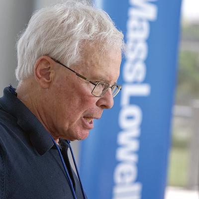 Harvey Lodish, founder of Genzyme, Inc., spoke at Biotech East.