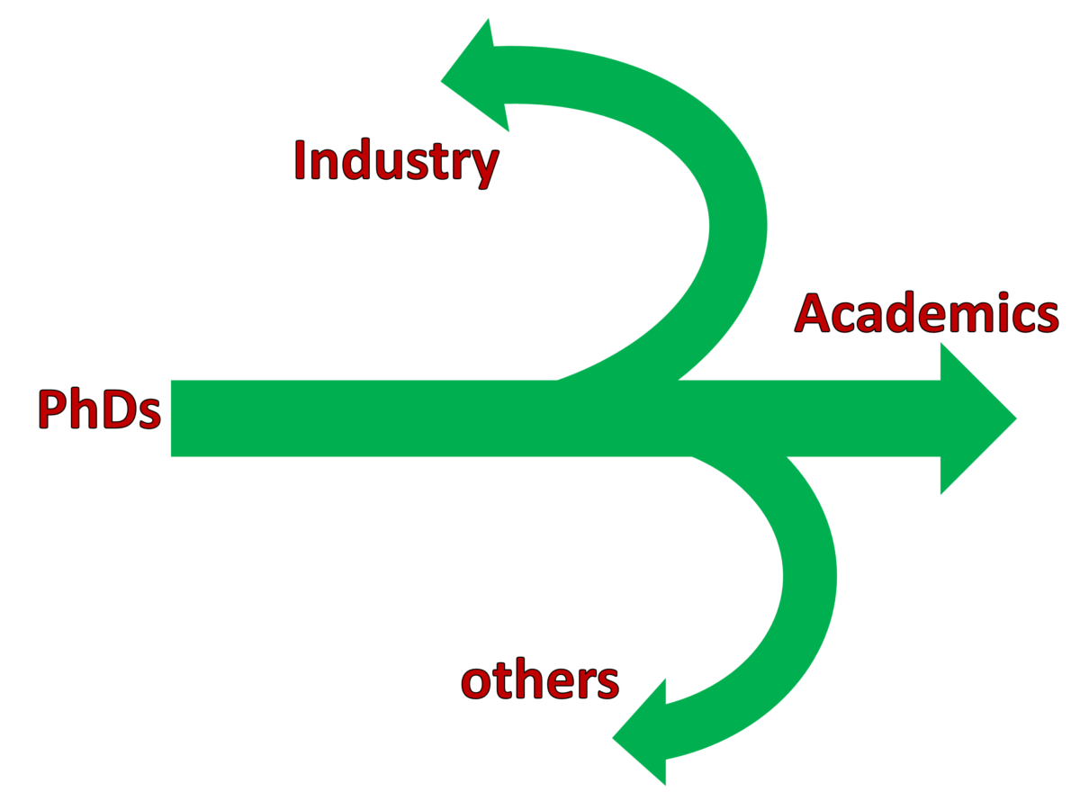 Non-academic career paths for PhDs